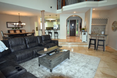 Features open floor plan